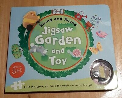 New Round And Round Jigsaw Garden And Toy • 2.20£