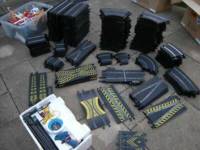Massive Job Lot Joblot Scalextric Classic Track 300 Pieces And Many Accessories  • 10.50£