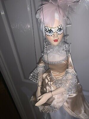 Very Rare Puppet Doll Masquerade Style, Comes With Box, Excellent Condition • 15£