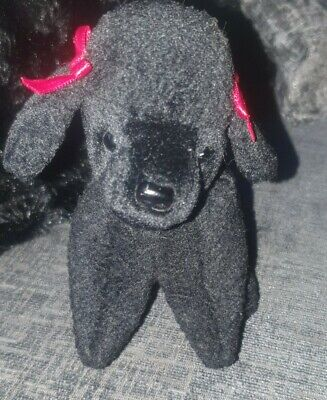 Ty Beanie Baby Gigi - Black Poodle - Retired • 4£