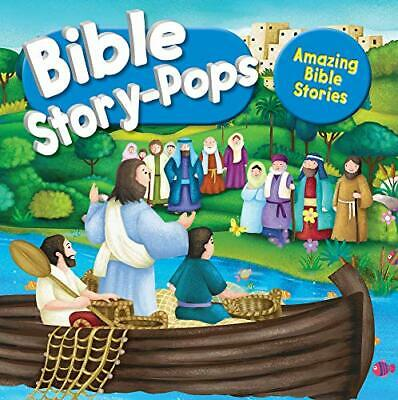 Amazing Bible Stories: 3 Fantastic Stories (Bible Story Pops) New Hardcover Book • 13.24£