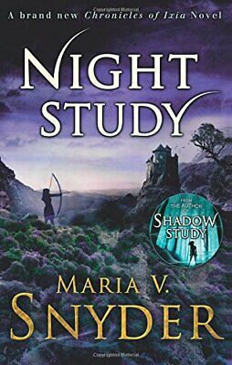 Night Study (The Chronicles Of Ixia) New Paperback Book • 11.33£