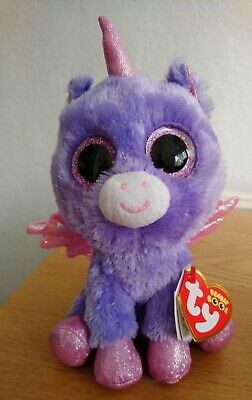 Athena Beanie Boo TY 15cm With Tags Birthday October 3rd Toy Collectible • 0.99£