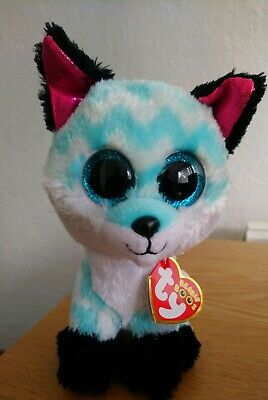 Piper Fox Beanie Boo TY 15cm With Tags Birthday April 6th Soft Toy Collectible • 0.99£
