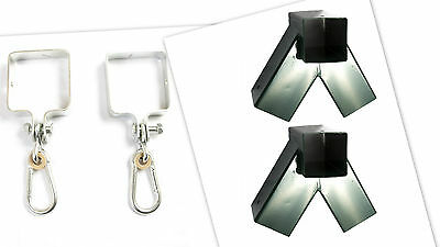 GREEN SQUARE DIY KIT Make Your Own SWING SET: 2 Brackets And 4 Swing Hooks • 79.99£