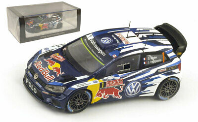 Spark S4501 VW Polo R WRC Monte Carlo 2015 - S Ogier World Champion 1/43 Scale  • 149.99£