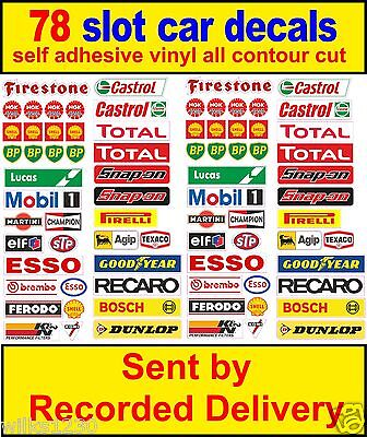 Slot Car Scalextric Barrier Sponsor Stickers Model Toolbox Decals Race Logo Lego • 6.25£