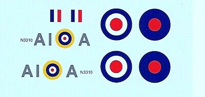 Dinky 719/741 Spitfire MK11 A1 | A Squadron | Waterslide Transfer / Decal • 4.50£
