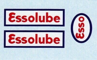 French Dinky 25 D Citerne | ESSOLUBE | Waterslide Transfer/Decal • 2£