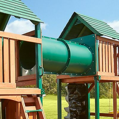 5ft Tube Tunnel Bridge. For Climbing Frame, Plastic, Rope Bridge, Outdoor, Play • 349.99£