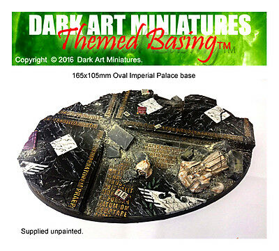 Imperial Palace Themed Resin Cast Bases For Wargaming. MULTI-LISTING • 15.40£