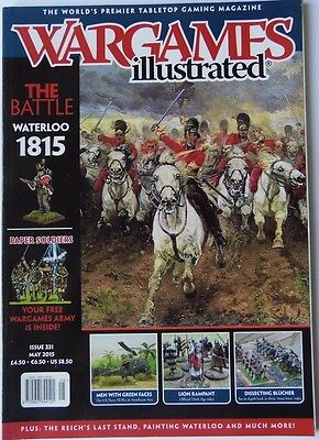 Wargames Illustrated - Issue 331 May 2015 - The Battle Waterloo 1815 • 11.88£