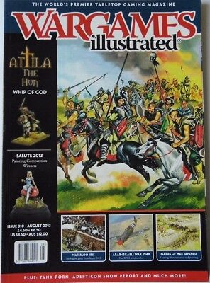 Wargames Illustrated - Issue 310 August 2013 - Attila The Hun • 4.70£