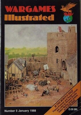 Wargames Illustrated - Issue 5 January 1988 - Indian Mutiny • 8.50£