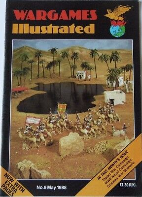 Wargames Illustrated - Issue 9 May 1988 - Trojan War Campaign • 9.45£