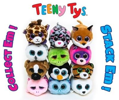 Teeny Tys Collection 12 Different Soft Toys To Choose From New With Tag Beanies • 3.99£