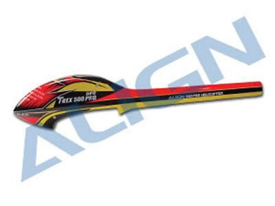 Align T-Rex 500E Speed Fuselage : Red/Yellow • 89.64£