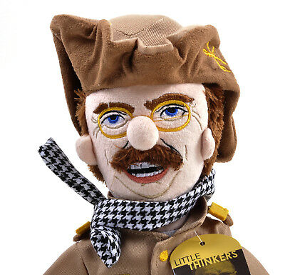 Theodore Roosevelt Soft Toy - Little Thinkers Doll • 24.99£