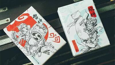 Fujin Playing Cards By BOMBMAGIC | Poker Deck | Collectable • 17£