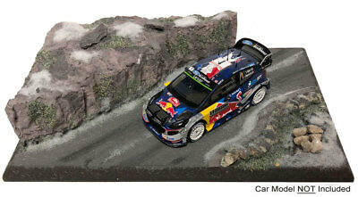 'Mountain Road Stage' Rally 1/43 Scale Lightweight Model Display Base • 39.99£
