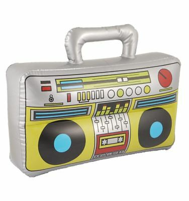 Inflatable Boom Box 37X28cm Party Fancy Stag Do Blow Up Music Player Accessory • 26.75£