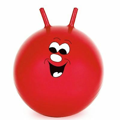 Red 60cm 24  Children Adult Space Hopper Jump & Bounce Indoor Outdoor Toy • 8.95£