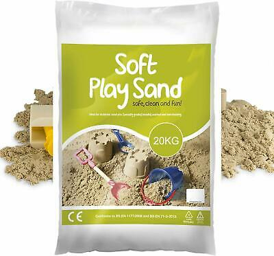 Childrens Play Sand Washed, Graded & Top Quality For Play Pit, Sandpit & Nursery • 18.95£