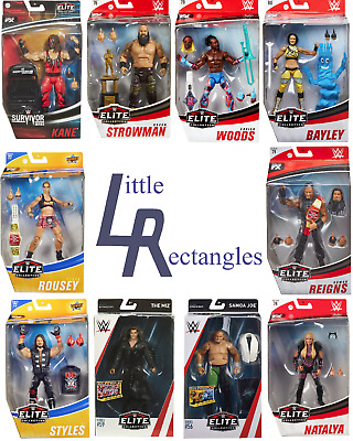 WWE Elite Figures - Mattel - Brand New - Sealed - SHIPPING COMBINES • 23.95£