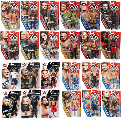 WWE Basic Series Figures - Mattel - Brand New - Sealed - SHIPPING COMBINES • 9.95£