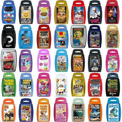 Top Trumps Card Games-Direct From The Manufacturer-Brand New Latest Editions • 5.74£