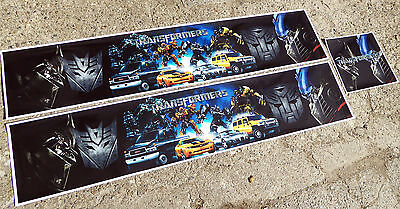 Tamiya 1/14 Scale Truck 'TRANSFORMERS' Themed Reefer Trailer Stickers Decals Set • 29.95£