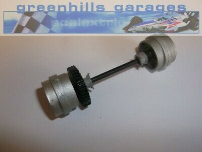 Greenhills Scalextric Ford GT2003 Rear Axle And Wheels  - Used - P3647 • 3.99£