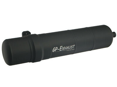Gp Exhaust Compact Silent 150 Heli (black) - Trade • 64.99£