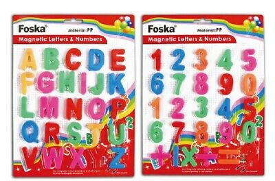 Kids Learning Teaching Magnetic Alphabet Letters Numbers Symbols Educational Toy • 3.75£