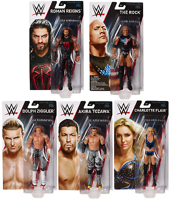 WWE Figures - Basic Series 86 - Mattel - Brand New - Sealed - SHIPPING COMBINES • 6.95£