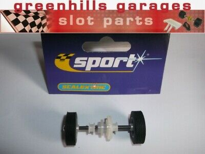 Greenhills Scalextric Accessory Pack For Aston Martin DB5 Rear Axle/wheels/ty... • 8.79£