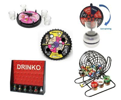Adult Drinking Games Fun Stag Hen Birthday Party Shot Glasses Novelty • 9.39£
