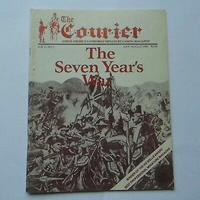 THE COURIER MAGAZINE - VOL.II Number 1 - SEVEN YEARS WAR - WARGAMING MAGAZINE • 15£