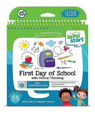 LeapFrog LeapStart Activity Book: First Day Of School And Critical Thinking • 7.99£