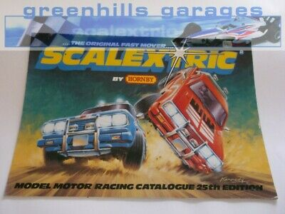 Greenhills Scalextric Electronic Model Racing Catalogue 25th Edition 1984 - C... • 8.99£
