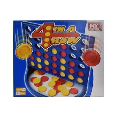 4 In A Row Board Game Connect 4 2 PLAYER Traditional Kids Game MY Childrens • 6.29£