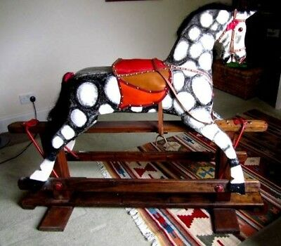 Large Dappled Rocking Horse • 430£