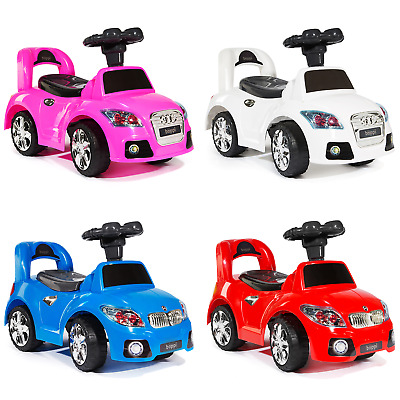Bopster Kids Toddler Ride On Push Along Sports Car *New* • 28.99£