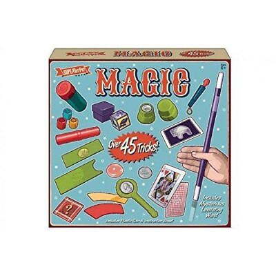Magicians 45 Tricks Magic Set Kids Children Play Toys Game Illusions • 7.89£