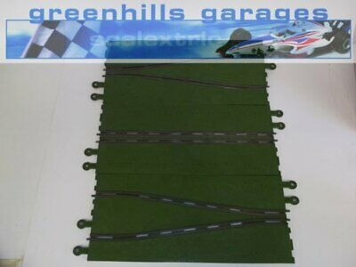 Greenhills Scalextric Classic Track Long Chicane Green C174 Used - MT85 • 15.99£