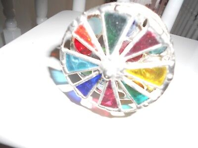 Kaleidocsope - Hand Made Glass / Metal 3 Wheel • 35£