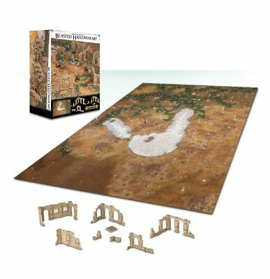 Realm Of Battle: Blasted Hallowheart Warhammer Age Of Sigmar 20% Off UK Rrp • 47.96£