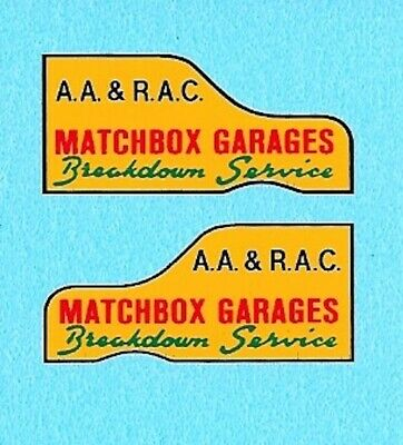 Matchbox 13 Ford Thames Trader | Garage Breakdown Service | Waterslide Decal • 1.95£