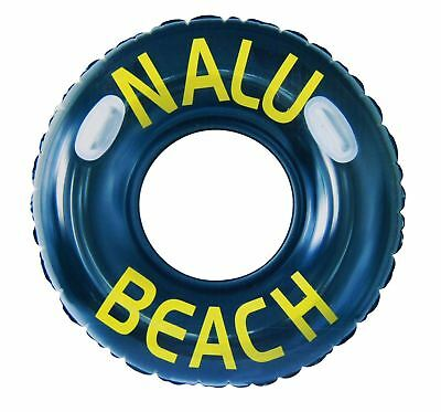 Inflatable  Rubber Tyre Tube Ring Beach Swimming Pool Aid Sea Toy Lilo Floa 47'' • 6.89£