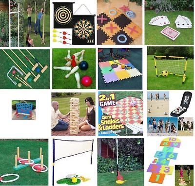 New Large Family Outdoor Party Games Summer Beach Bbq Party Kids & Adults • 5.99£